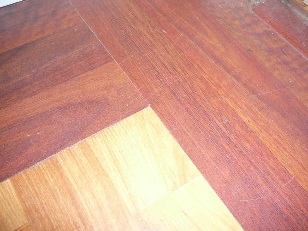 Just look at the fit of this corner. This pic was taken after the floor had been down for 5 years,