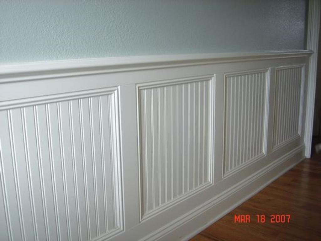 Custom Wainscot Wainscoting Handyman Remodel Colorado Springs